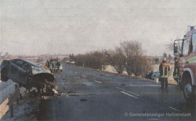 Tödlicher Unfall auf der B81 |