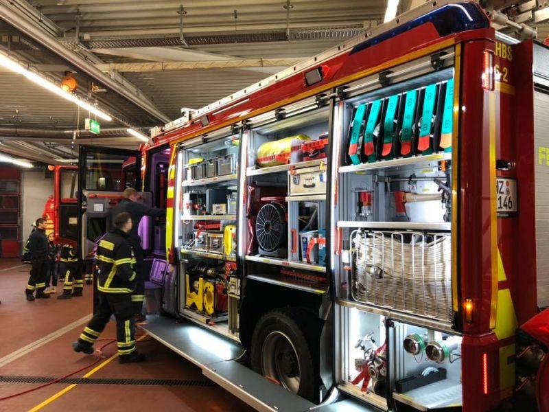 Neues HLF 20 erweitert den Fuhrpark in der Feuerwehr Halberstadt