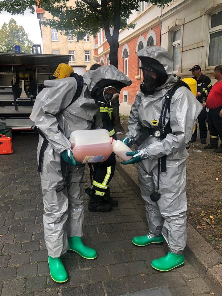 GSG Mittel – Gefahrguteinsatz in Halberstadt