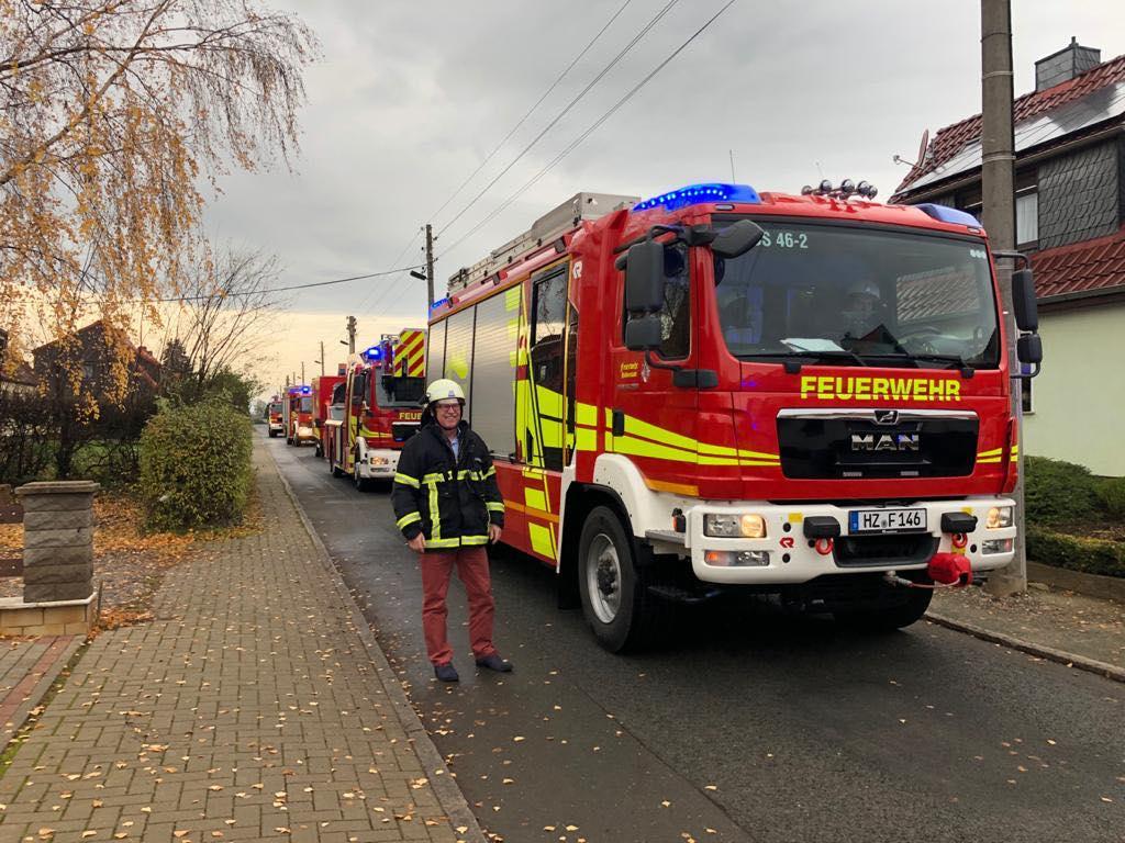 Führungswechsel bei der Feuerwehr Halberstadt – Jörg Kelle verabschiedet