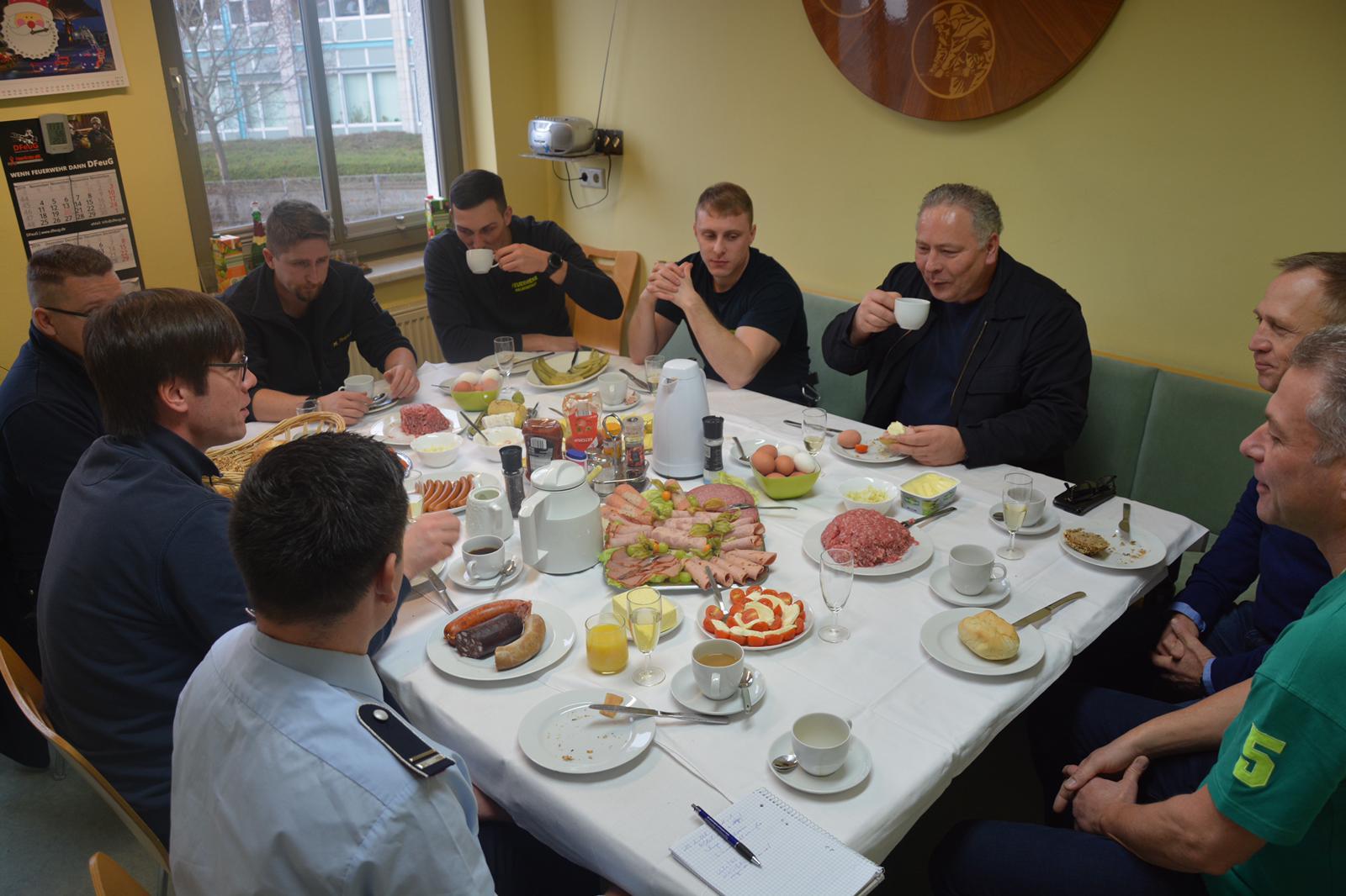 Traditionelles Frühstück mit dem Oberbürgermeister