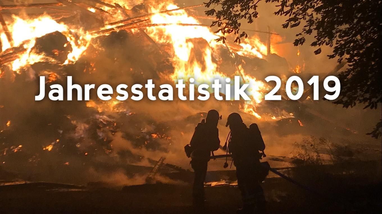891 Einsätze – Jahresstatistik 2019