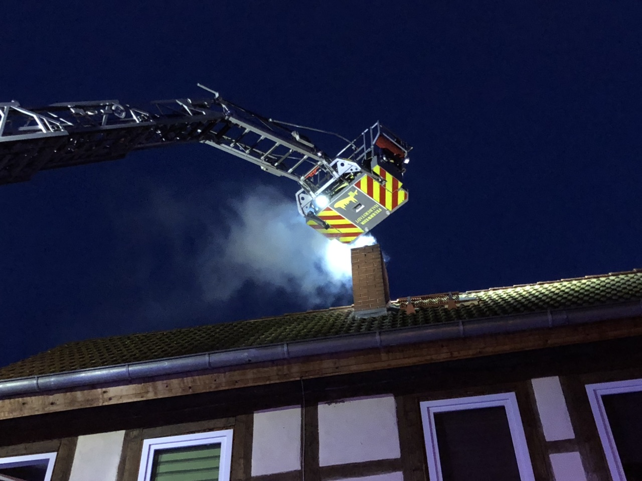 Schornsteinbrand in Klein Quenstedt