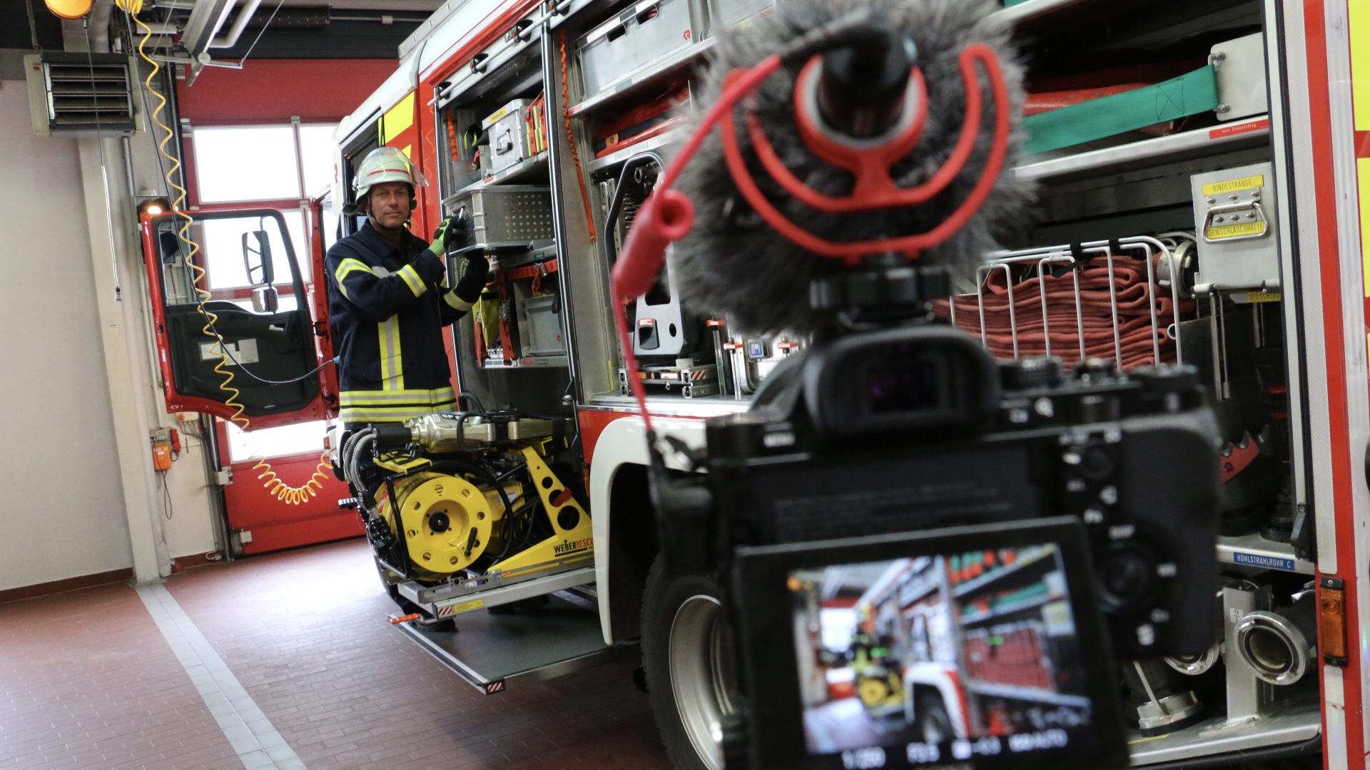 Feuerwehr im Pandemie-Modus