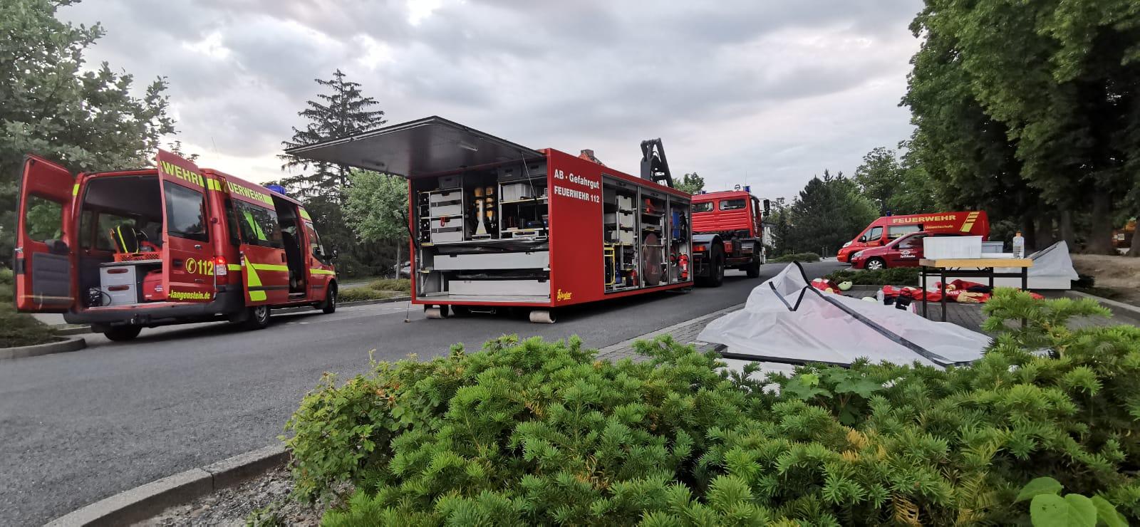 """Gasalarm im Freizeit- und Sportzentrum """"Sea Land"""" – Gebrüder-Rehse-Straße"""
