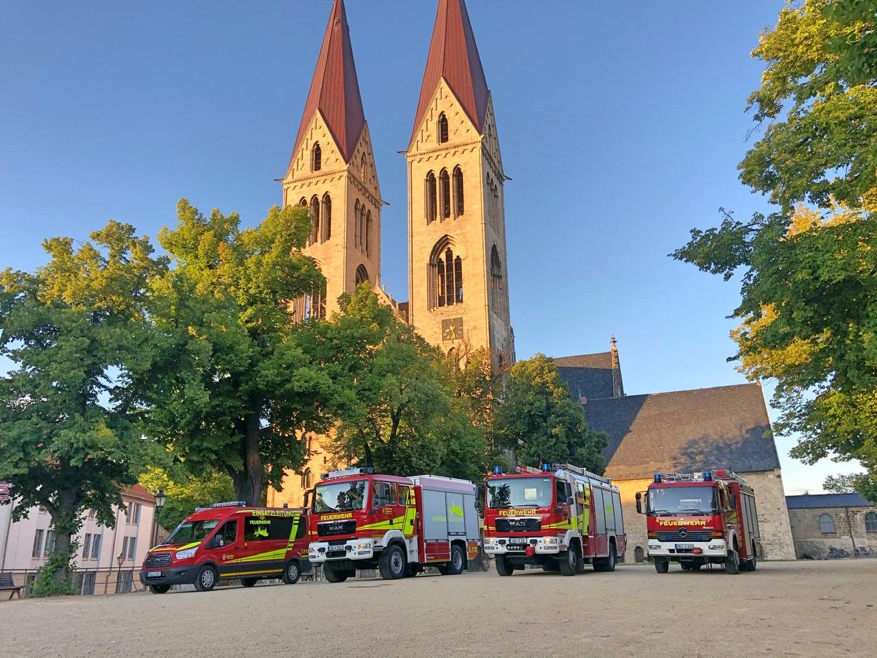 Operativ taktisches Studium (OTS) im Halberstädter Dom