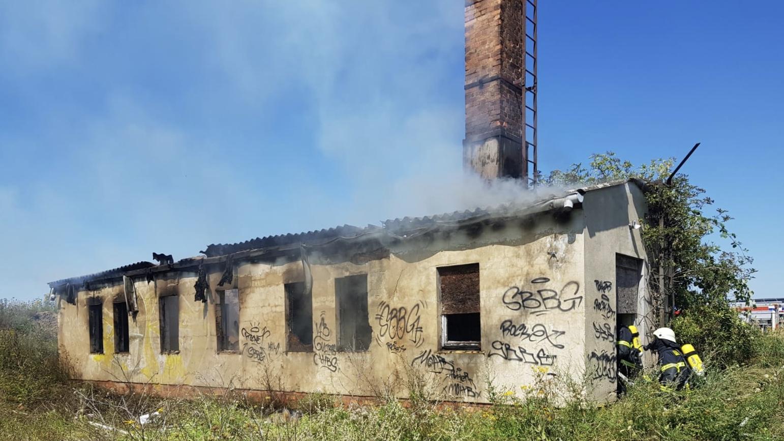 Gebäudebrand – Luther-Augustin-Straße