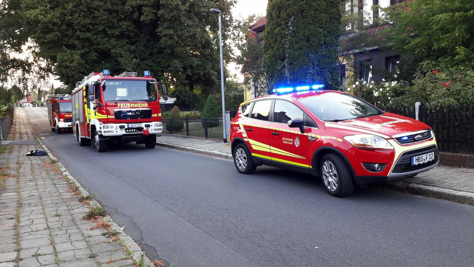 Gartenlaubenbrand – Gartenstadt in Halberstadt