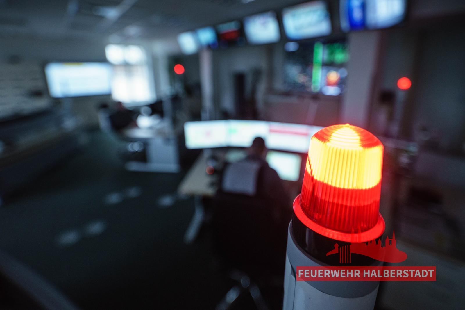 Starke Rauchentwicklung auf Firmengelände – Rudolf-Diesel-Straße