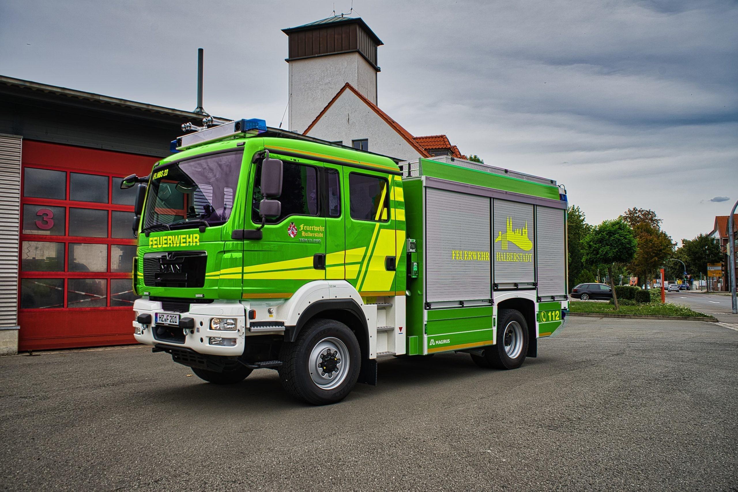 Europaweit einheitlich: Feuerwehr wird grün