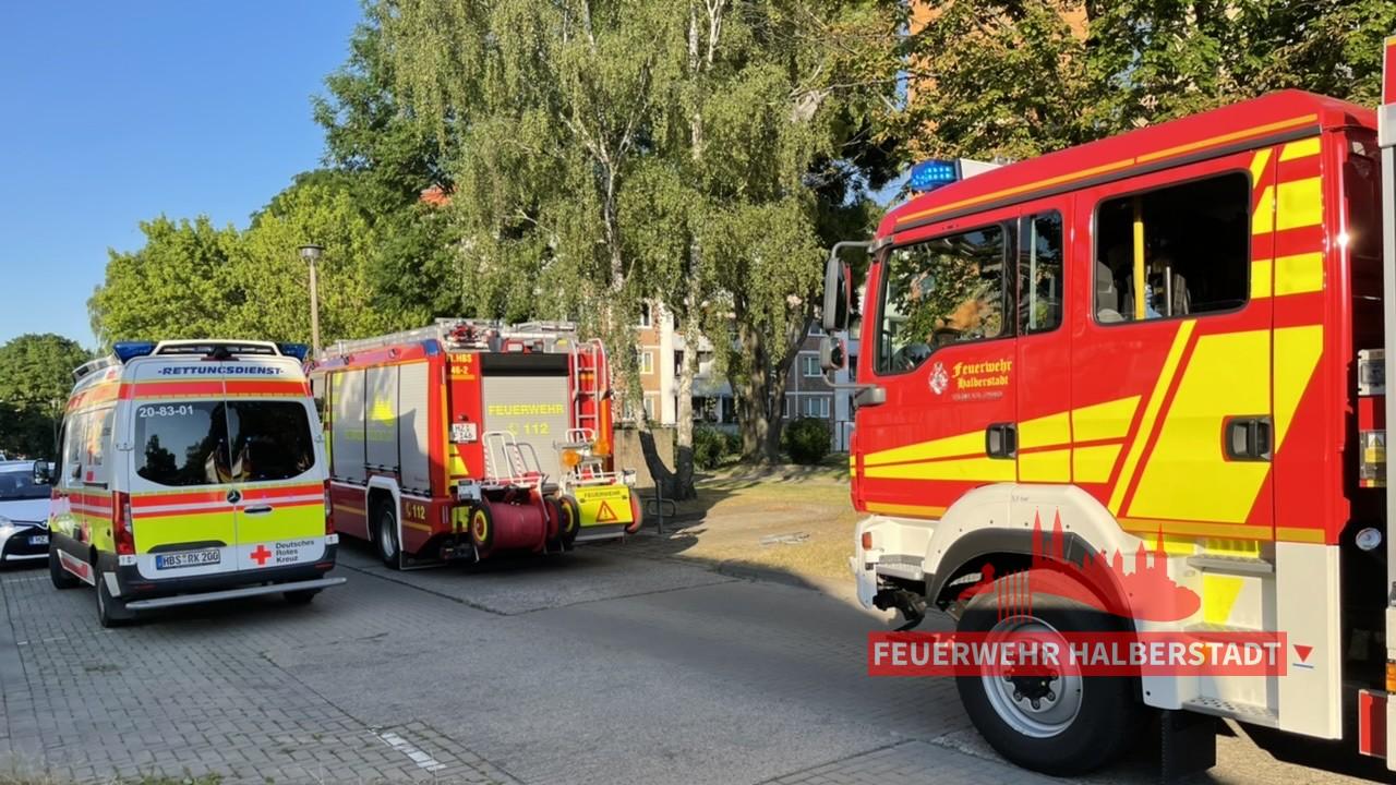 Ausgelöster Heimrauchmelder – Erich-Bordach-Straße