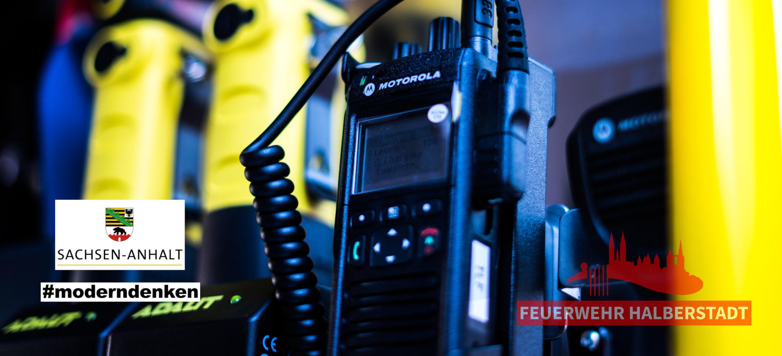 Anschaffung und Umrüstung neuer Funkgeräte abgeschlossen