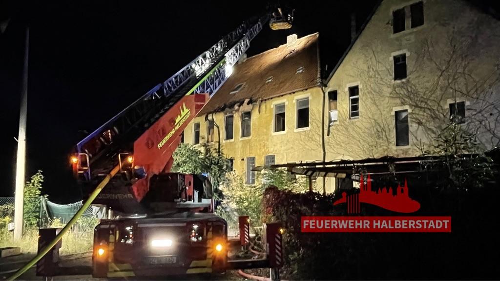 Gebäudebrand – Gröperstraße